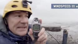 Καταγράφοντας με μια κάμερα το ισχυρότερο τυφώνα της