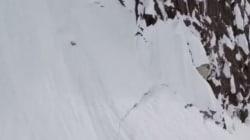 Σκιέρ κατρακυλά σε γκρεμό 300 μέτρων και