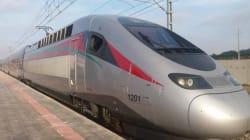 Les premières images du TGV
