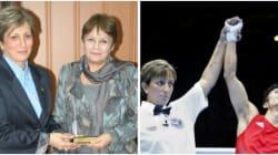 Kheira Sidi-Yakoub, arbitre internationale de boxe et enseignante à Tissemsilt, honorée par