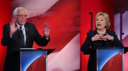 힐러리 VS 샌더스: NSNBC 토론서 불꽃