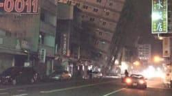 Ισχυρός σεισμός στην Ταϊβάν. «Έγειρε» ολόκληρο