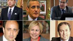 Les cinq hauts fonctionnaires nommés par le