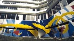 Deux graffeurs marocains colorent le Technopark de Tanger