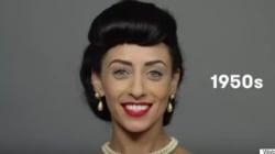 Voyez 100 ans de beauté égyptienne en moins de deux minutes