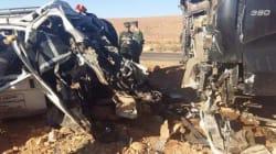 Naâma: 13 morts dans une collision entre un minibus et un camion