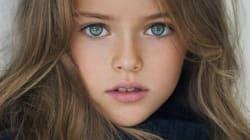 Kristina Pimenova, la plus belle petite fille au monde, top modèle à 10