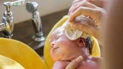 Près de 90% des produits pour bébés composés de substances chimiques