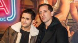 Gad Elmaleh fait la promo du film déjanté