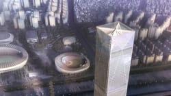 삼성동에 들어설 현대자동차 새 사옥의 조감도(그림