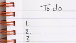 '오늘의 할 일' 목록을 만들 때 하지 말아야 할