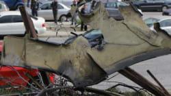 Η στιγμή του απεγκλωβισμού στο αναποδογυρισμένο αυτοκίνητο του Παντελή