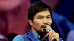 Le boxeur philippin Manny Pacquiao assume ses propos