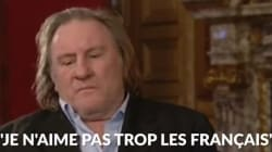 Gérard Depardieu n'aime pas grand monde, la preuve en