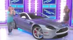 Απίστευτη αντίδραση νεαρής κοπέλας που κέρδισε μια Aston Martin σε