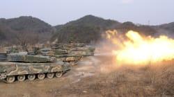 Το «σιδερένιο κύμα» των τεθωρακισμένων της Νότιας Κορέας: Επίδειξη δύναμης απέναντι στον Κιμ Γιονγκ