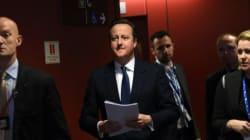 Cameron présente au parlement l'accord