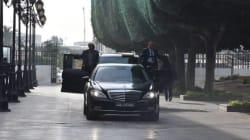 La vidéo épique de l'arrivée de Habib Essid à la