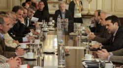 Ολοκληρώθηκε η νέα συνάντηση Τσίπρα με τους