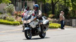 La California Highway Patrol en mission au