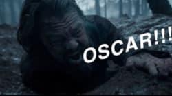10 GIFs pour que DiCaprio obtienne enfin un