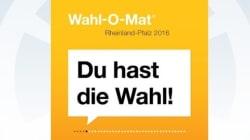 Wahl-O-Mat für Rheinland-Pfalz 2016: Findet die passende Wahl für