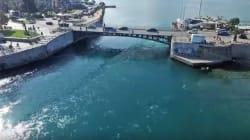 Η Χαλκίδα από drone - Η Μυστηριώδης Παλίρροια του Ευρίπου από