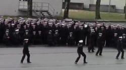 Το ναυτικό της Νορβηγίας τα «δίνει όλα» χορεύοντας στους ήχους του Uptown