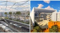 Découvrez les deux futures gares de Rabat en 3D