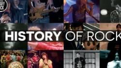 Η ιστορία του Rock and Roll μέσα από ένα απίστευτα έξυπνο