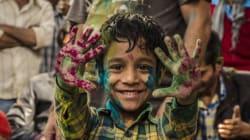J'ai assisté au festival Holi, la fête des couleurs en