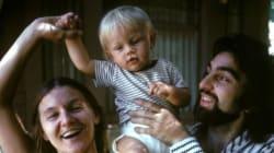 디카프리오의 아기 사진이 이상한 논쟁을