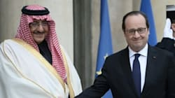 La Légion d'honneur remise au prince héritier saoudien