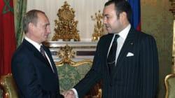 Le roi Mohammed VI rencontrera le président Poutine le 15