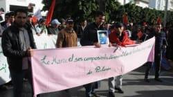 La marche pour le Sahara en neuf photos
