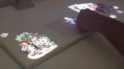 Sony veut transformer votre table en écran interactif et