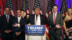Donald Trump écrase la concurrence en Floride, État-clé des