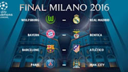 Champions League: le Barça tombe sur l'Atletico, PSG vs Man