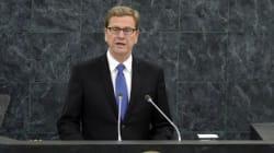 Guido Westerwelle, ein Politiker mit einem dicken