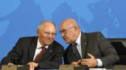 Σόιμπλε και Σαπέν στηρίζουν Τσίπρα: Τον εμπιστευόμαστε. Η κυβέρνηση