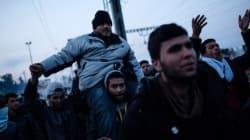 Διαμαρτυρίες Σύριων και Γεζίντι στην Ειδομένη για τα κλειστά