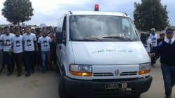 Raja: Les images émouvantes des funérailles de deux supporters