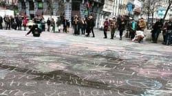 지금 브뤼셀의 사람들은 사랑과 용기와 유머로 연대하는