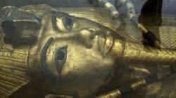 투탕카멘 무덤 벽 뒤에서 금속 및 유기 물질이 발견되다. 미스터리는 점점 더