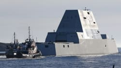 미 해군의 5조짜리 새 구축함은 반짝이는 돈