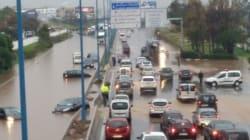 L'autoroute de Casablanca convertie en piscine municipale