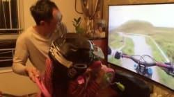 아빠가 딸을 위해 직접 만든 가상현실 게임
