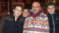 Le roi Mohammed VI à