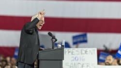 ΗΠΑ: Νίκη Σάντερς επί της Χίλαρι Κλίντον στην Ουάσινγκτον με μεγάλη
