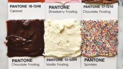 Ένας λογαριασμός στο Instagram ταιριάζει χρώματα της Pantone με διάφορες λιχουδιές και είναι χάρμα